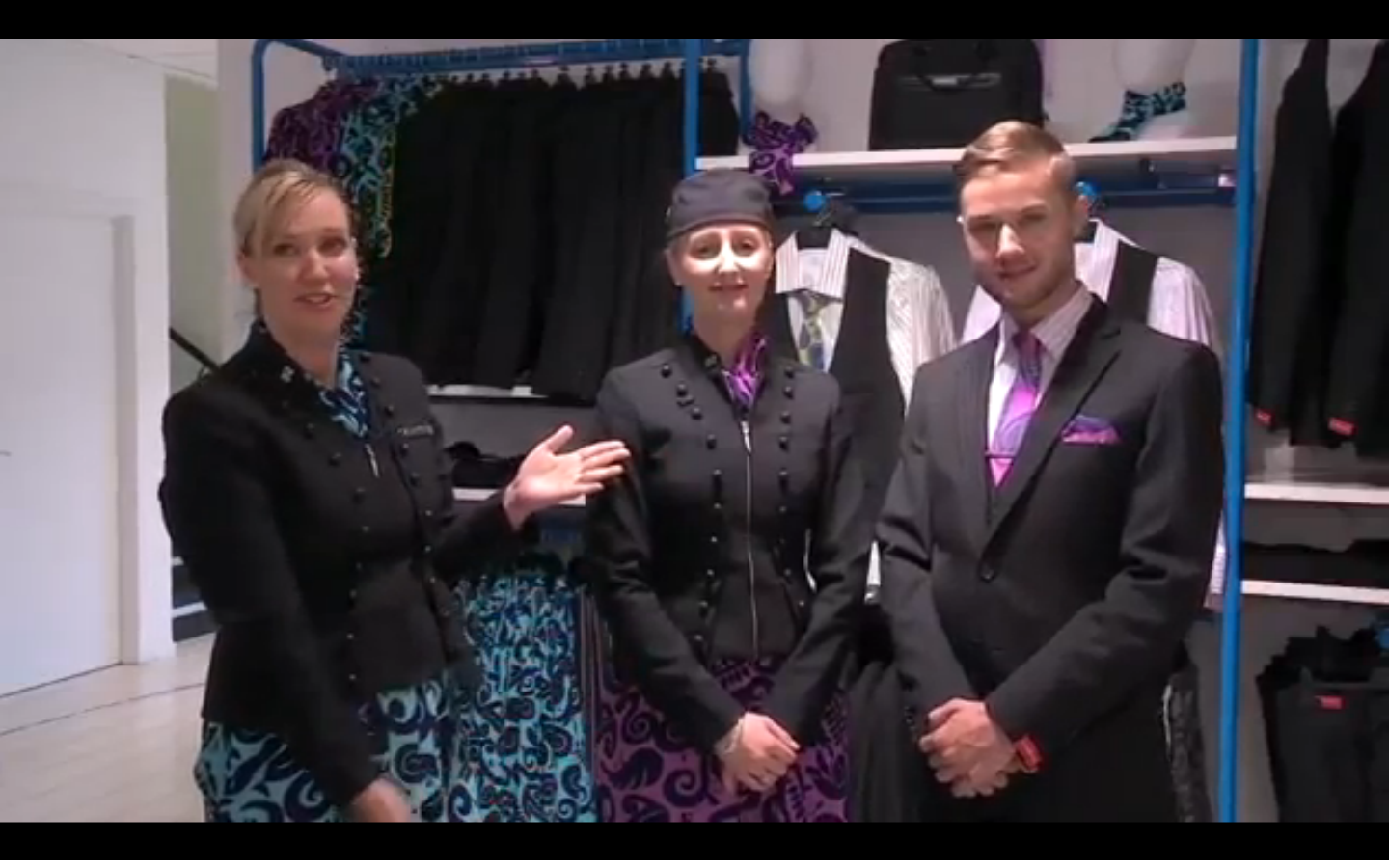 Inside the Air New Zealand 'Clothes Hangar'